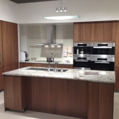 Wood Veneers Kitchen Cabinet From Foshan