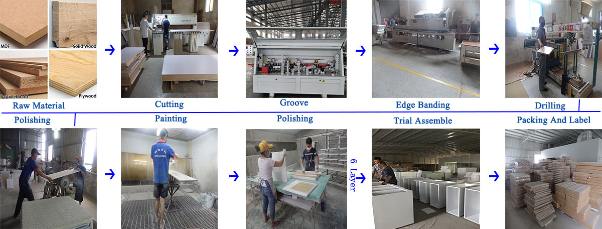 foshan colmar cabinet production process