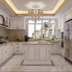 Modern Simple European Style Kitchen Cabinet Made ...