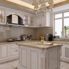 Modern Simple European Style Kitchen Cabinet in Ch