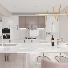 foshan new model modern white kitchen