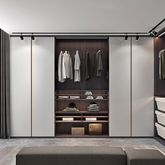 Wooden Sliding Wardrobes Bedroom Wall Closet Furni...