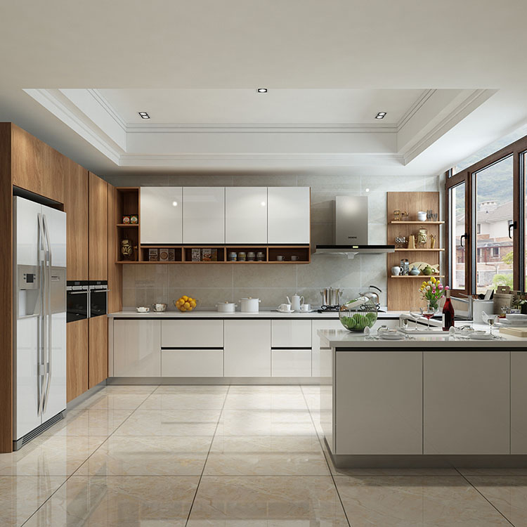 G-shaped Kitchen Cabinets
